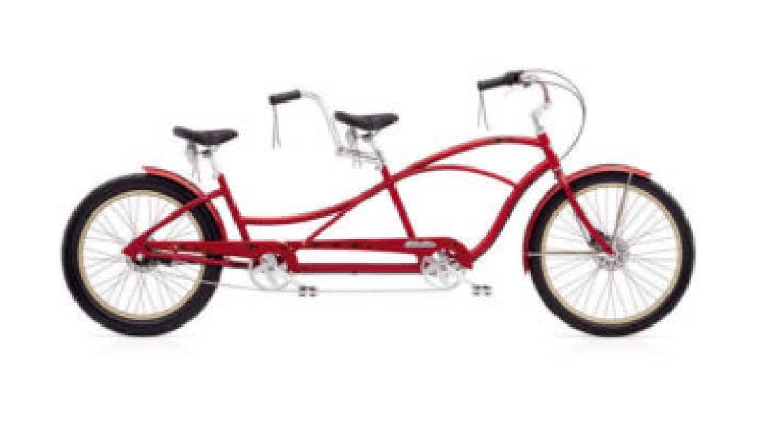 Ski-Haus-Tandem-Bike