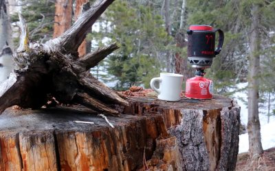 Compact And Lightweight Primus Lite+ Backpacking Stove At Ski Haus